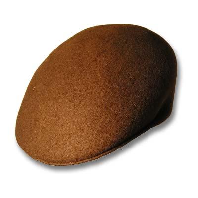 Gorra visera semi rigida para el invierno,  color marrón. VESPA.