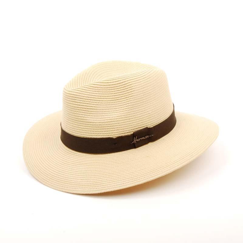Sombrero sport verano en color beige, SOMBRERO CABALLERO.