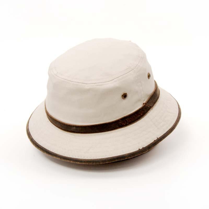 Sombrero STETSON, algodón, en color Beige. GORRO DE VERANO.