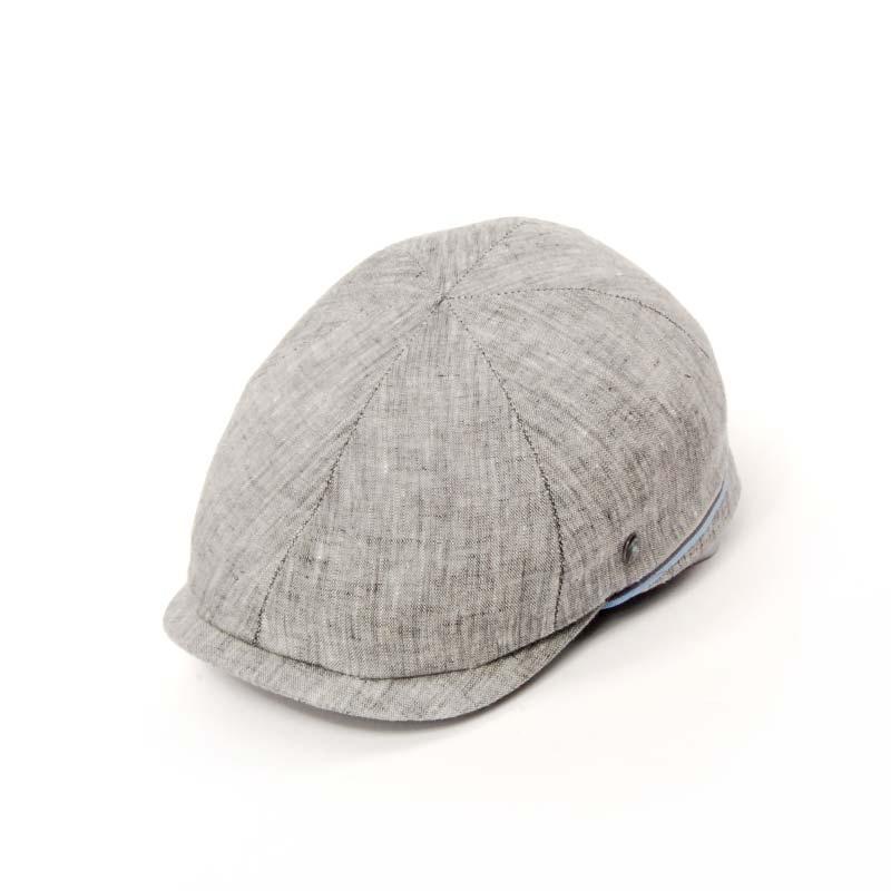 Gorra visera de verano, CTY SPORT, gorra en lino, color gris