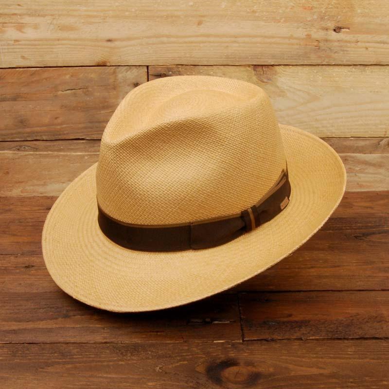 Sombrero Panamá, hecho a mano en Ecuador, Fernandez Roché, PANAMÁ TOSTADO