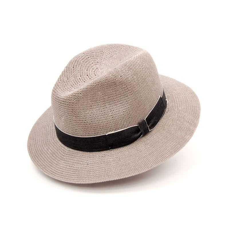 Sombrero sport caballero, sombrero gris, Primavera Verano