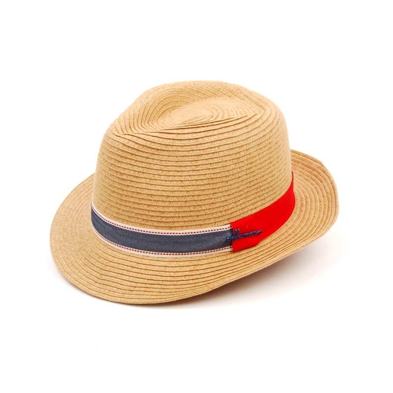 Sombrero de verano, Borsalino en color beige.