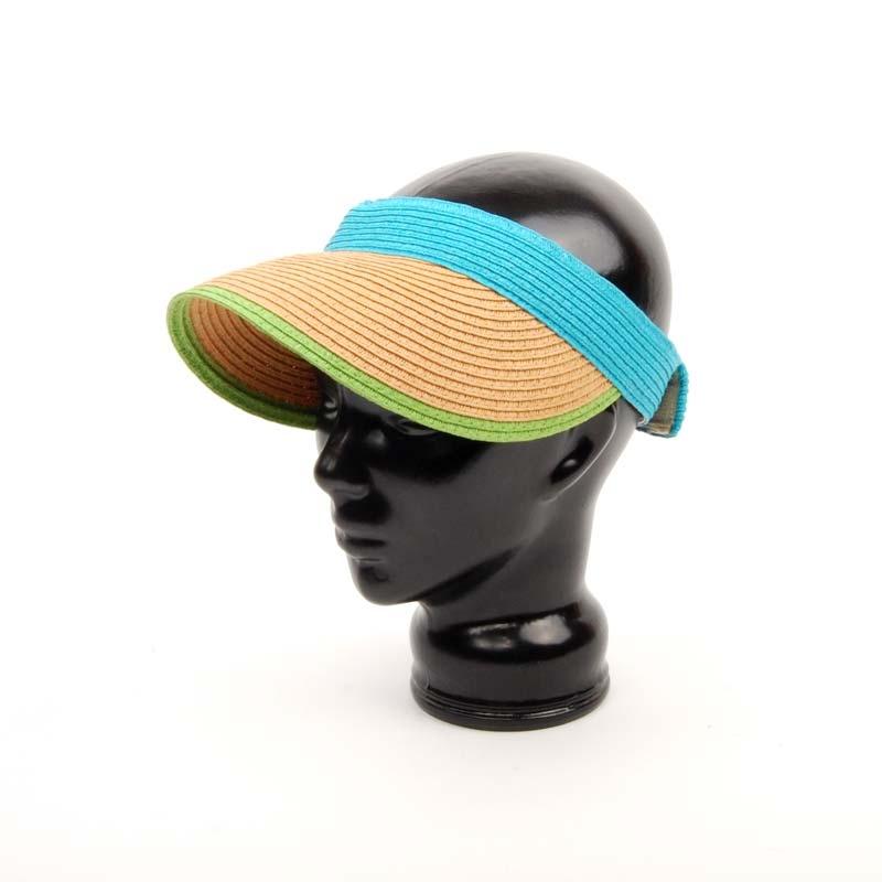 VISERA DE MUJER, visor sin casco para el verano, colores.