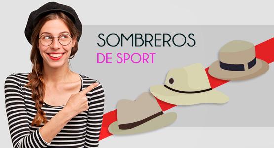 Sombreroros de sport hombre y mujer