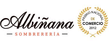 Logotipo Albiñana sombrerería