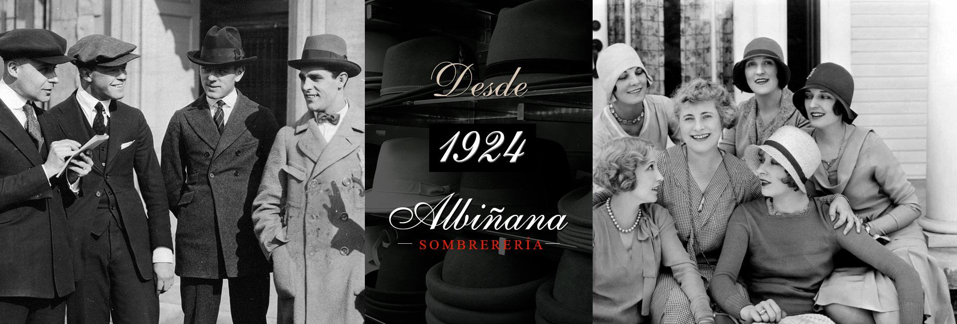 d2936d6fdc476 Sombreros y Banderas  Sombrerería Albiñana